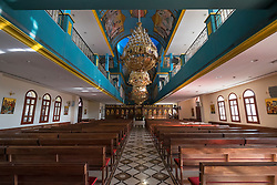 Interior of St Mary Greek Orthodox Church at Jebel Ali in Dubai United Arab emirates