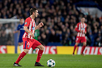 LONDON,ENGLAND - DECEMBER 05: Atletico Madrid (6) Koke during the UEFA Champions League group C match between Chelsea FC and Atletico Madrid at Stamford Bridge on December 5, 2017 in London, United Kingdom.  <br /> ( Photo by Sebastian Frej / MB Media )