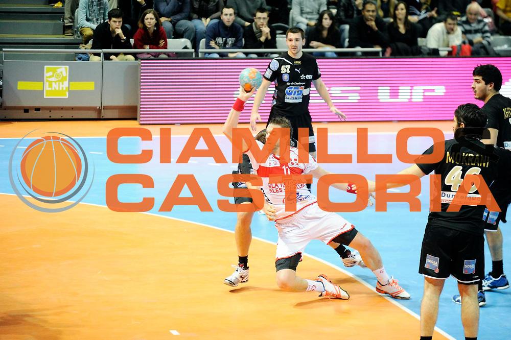DESCRIZIONE : France Hand D1 Coupe de la Ligue Demi Finale a Toulouse<br /> GIOCATORE : Gille Guillaume<br /> SQUADRA : Chambery<br /> EVENTO : Hand D1 Coupe de la Ligue <br /> GARA : Chambery Dunkerque<br /> DATA : 08/12/2012<br /> CATEGORIA : Hand D1 <br /> SPORT : Handball<br /> AUTORE : JF Molliere <br /> Galleria : France Hand 2012-2013 Action<br /> Fotonotizia : Hand D1 Coupe de la Ligue Demi Finale a Toulouse<br /> Predefinita :