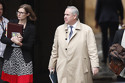 © Licensed to London News Pictures. 25/09/2019. London, UK. Attorney General Geoffrey Cox is seen at Parliament in Westminster after The Supreme Court in London yesterday ruled that Parliament had been suspended illegally. British Prime Minster Boris Johnson prorogued parliament just weeks before the UK is due to leave the EU on October 31st. Photo credit: Peter Macdiarmid/LNP