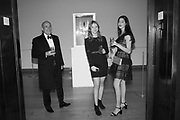 RICHARD GIROUARD, OLIVIA FOUND, YASMIN ALIKHANI, The George Michael Collection drinks.  Christie's, King St. London, 12 March 2019