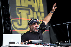 © Licensed to London News Pictures . 12/06/2016 . Manchester , UK . De La Soul perform on the Ram Jam stage at the Parklife music festival at Heaton Park in Manchester . Photo credit : Joel Goodman/LNP