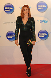 Mercury Prize. <br /> KATY B attends the Barclaycard Mercury Prize at The Roundhouse, London, United Kingdom. Wednesday, 30th October 2013. Picture by i-Images