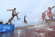 LOUIS gILAVERT (FRA) competes on Men's 3000 m Steeple final during the Jeux Mediterraneens 2018, in Tarragona, Spain, Day 6, on June 27, 2018 - Photo Stephane Kempinaire / KMSP / ProSportsImages / DPPI