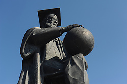 May 27, 2019 - Tambov, Tambov region, Russia - Monument to scientist Vladimir Vernadsky in Tambov  (Credit Image: © Demian Stringer/ZUMA Wire)