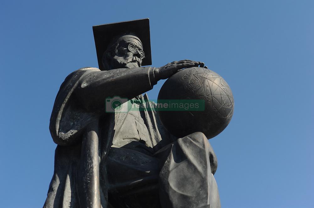 May 27, 2019 - Tambov, Tambov region, Russia - Monument to scientist Vladimir Vernadsky in Tambov  (Credit Image: © Demian Stringer/ZUMA Wire)