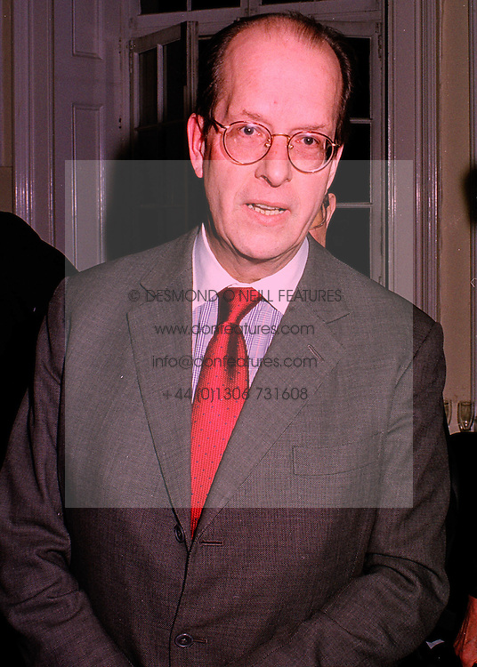 PRINCE ROSTILAV ROMANOFF at a reception in London on 19th March 1998.<br /> MGF 37