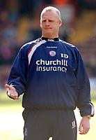 Photo: Daniel Hambury.<br />Crystal Palace v Leeds United. Coca Cola Championship. 04/03/2006.<br />Palace's manager Iain Dowie.