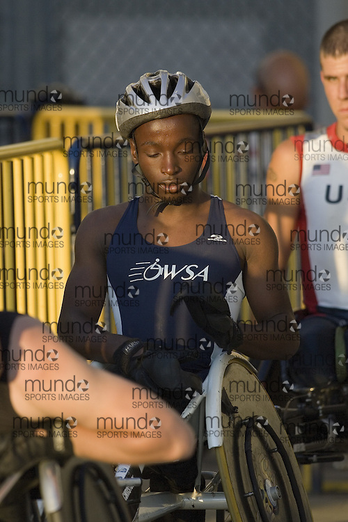 12 July 2007 (Windsor--Canada) -- The 2007 Canadian National Track and Field Championships...\ competing in the