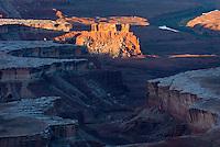 Green River Overlook at dawn, Canyonlands National Park Utah