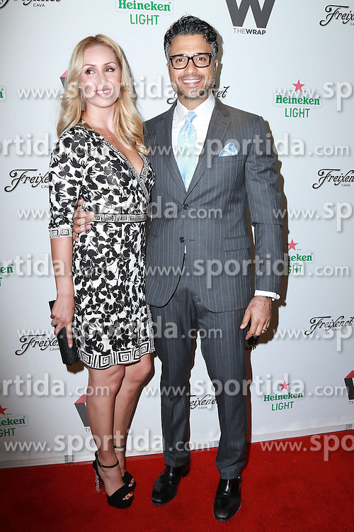 Jaime Camil, Heidi Balvanera, at TheWrap's 2nd Annual Emmy Party, The London, West Hollywood, CA 06-11-15. EXPA Pictures &copy; 2015, PhotoCredit: EXPA/ Photoshot/ Martin Sloan<br /> <br /> *****ATTENTION - for AUT, SLO, CRO, SRB, BIH, MAZ only*****