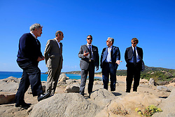 ITALY SARDINIA CHIA 28SEP07 - Andreas Panayiotou and his entourage visit the Le Meridien Chia Laguna resort with intentions of a leaseback purchase. Panayiotou, founder and Group Chairman of The Ability Group and a former boxer built his property empire from the ground up and today enjoys his status as billionnaire tycoon...jre/Photo by Jiri Rezac..© Jiri Rezac 2007..Contact: +44 (0) 7050 110 417.Mobile:  +44 (0) 7801 337 683.Office:  +44 (0) 20 8968 9635..Email:   jiri@jirirezac.com.Web:    www.jirirezac.com..© All images Jiri Rezac 2007 - All rights reserved.