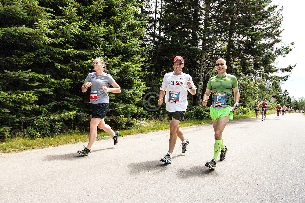 Great Cranberry Island Ultra 50K road race: Mark and BIll