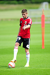 Bristol City's Wes Burns - Photo mandatory by-line: Dougie Allward/JMP - Tel: Mobile: 07966 386802 28/06/2013 - SPORT - FOOTBALL - Bristol -  Bristol City - Pre Season Training - Npower League One
