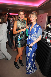 Left to right, VIOLET VON WESTENHOLTZ and OLIVIA BUCKINGHAM at the annual Sotheby's Summer Party held at their auction rooms 34-35 New Bond Street, London W1 on 19th June 2008.<br /><br />NON EXCLUSIVE - WORLD RIGHTS