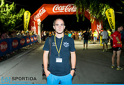 Urban Urbanc at 10th Nocna 10ka 2016, traditional run around Bled's lake, on July 09, 2016 in Bled,  Slovenia. Photo by Vid Ponikvar / Sportida
