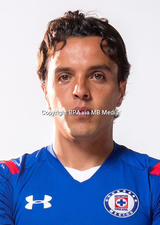 Mexico League - BBVA Bancomer MX 2014-2015 -<br /> La Maquina - Cruz Azul Fc / Mexico - <br /> Omar Israel Mendoza Martin &quot; Omar Mendoza &quot;