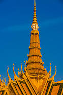 Cambodia-Phnom Penh-Royal Palace & Silver Pagoda