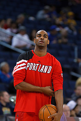 Feb 15, 2012; Oakland, CA, USA; before the game against the Golden State Warriors at Oracle Arena. Portland defeated Golden State 93-91. Mandatory Credit: Jason O. Watson-US PRESSWIRE