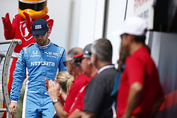 March 11, 2018 - St. Petersburg, Florida, United States of America - March 11, 2018 - St. Petersburg, Florida, USA: Ed Jones (10) gets introduced to the crowd for the Firestone Grand Prix of St. Petersburg at Streets of St. Petersburg in St. Petersburg, Florida. (Credit Image: © Justin R. Noe Asp Inc/ASP via ZUMA Wire)