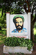 Revolutionary sign in Artemisa, Cuba.