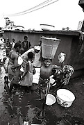 Lome Togo - Morning water collection