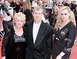Edinburgh International Film Festival 2019<br /> <br /> Mrs Lowry And Son (World Premiere, closing night gala)<br /> <br /> Pictured: Joanne Pearce, Director Adrian Noble and Rose Noble<br /> <br /> Alex Todd | Edinburgh Elite media
