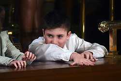 Joshua Trump, a Delaware boy bullied for his last name attends President Trump 's State of the Union address as a special guest on Capitol Hill February 5, 2019 in Washington, DC. DC.Photo by Olivier Douliery/ABACAPRESS.COM