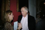 LUCY BERESFORD AND SIR TIM RICE, The Literary Review Bad sex in Fiction Award 2007. The In and Out Naval and Military Club. St. James's Sq. London. 27 November 2007. -DO NOT ARCHIVE-© Copyright Photograph by Dafydd Jones. 248 Clapham Rd. London SW9 0PZ. Tel 0207 820 0771. www.dafjones.com.