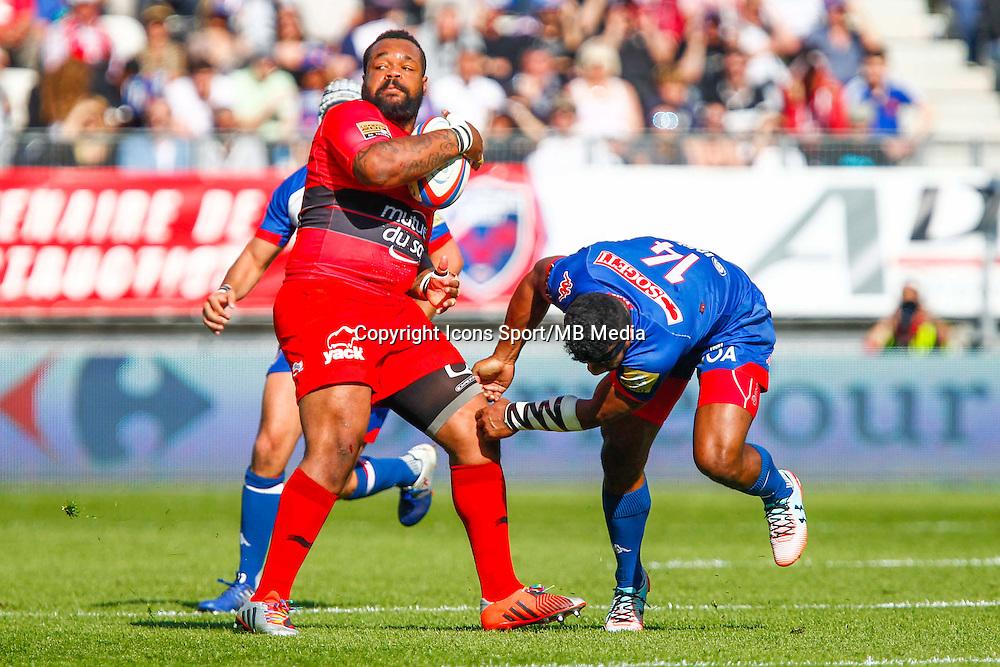 Mathieu BASTAREAUD  - 11.04.2015 - Grenoble / Toulon  - 22eme journee de Top 14 <br />Photo :  Jacques Robert / Icon Sport