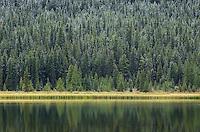 Upper Waterfowl Lake, Banff National Park  Alberta