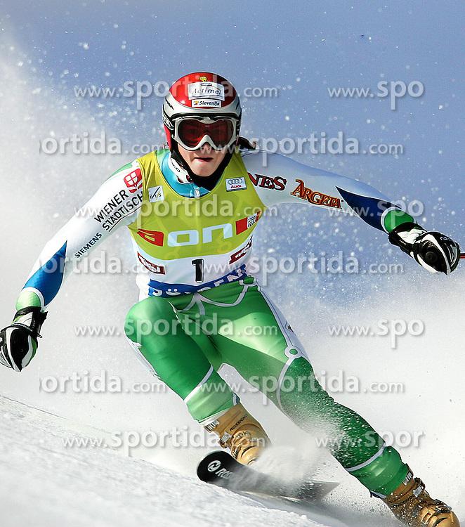 SKI ALPIN: Weltcup, Damen, Riesenslalom, Soelden, 22.10.2005<br />Tina MAZE (SLO) <br />&copy; pixathlon<br />AUSTRIA OUT !