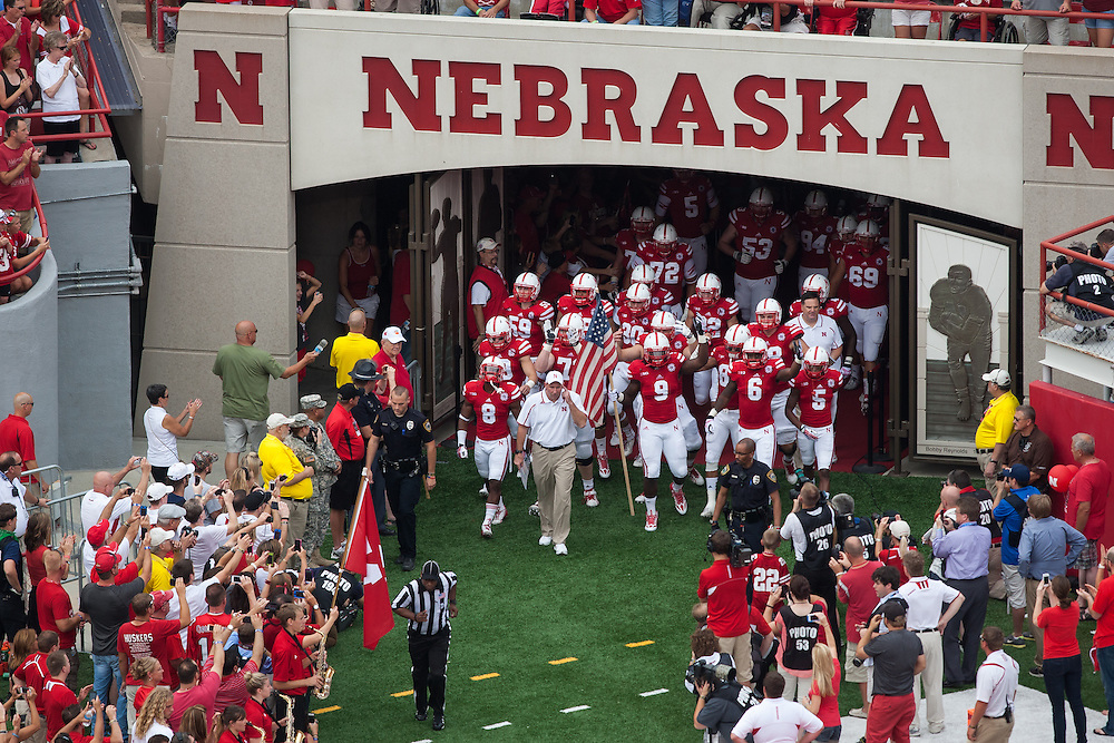 September 7, 2013: at Memorial Stadium in Lincoln, Nebraska.
