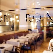 North Road Restaurant, run by chef Christoffer Hruskova.