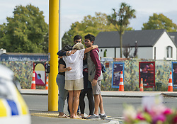 March 16, 2019 - Christchurch, Canterbury, New Zealand - Flowers, messages, songs and prayers were all offered up throughout the city in the wake of two mosque shootings that left as many as 49 people dead and dozens injured. (Credit Image: © PJ Heller/ZUMA Wire)