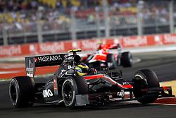 Motorsports / Formula 1: World Championship 2010, GP of Singapore, 21 Bruno Senna (BRA, HRT F1 Team),