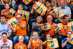 08-09-2018 NED: Netherlands - Argentina, Ede<br /> Second match of Gelderland Cup / Support, fans, publiek