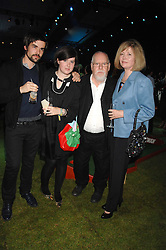 Left to right, RISSELL JOHN, ROSE BLAKE and her parents SIR PETER & LADY BLAKE at a party to celebryate the launch of the Spring Summer 2008 adidas collection by Stella McCartney held at the Westway Sports Centre, off Latimer Road, London W10 on 20th September 2007.<br /><br />NON EXCLUSIVE - WORLD RIGHTS