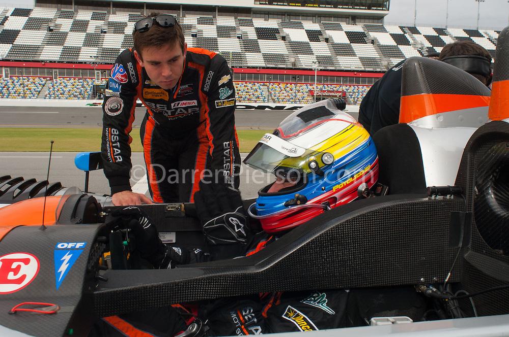 #25 8Star Motorsports ORECA FLM09: Enzo Potolicchio, Sean Rayhall