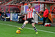 Jake Taylor (25) of Exeter City during the EFL Sky Bet League 2 match between Exeter City and Grimsby Town FC at St James' Park, Exeter, England on 29 December 2018.