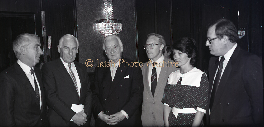 Benson and Hedges National Press Awards, Berkeley Court, Dublin,<br /> 17th May 1984