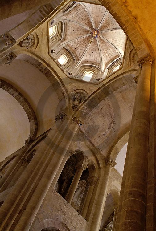 06/06/93 - CONQUES - AVEYRON - FRANCE - Abbatiale Saint FOY - Photo Jerome CHABANNE