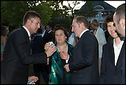 SUSY MENKES; Francois-Henri Pinault , 2014 Serpentine's summer party sponsored by Brioni.with a pavilion designed this year by Chilean architect Smiljan Radic  Kensington Gdns. London. 1July 2014