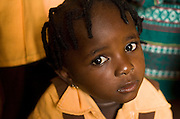 Girl at the Dahin-Sheli primary school in Tamale, northern Ghana, on Friday June 8, 2007.