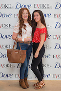 23.06.16...Pictured at the Dove Self Esteem Event in the Morrison Hotel Dublin last night (Thursday 22nd June) is from the left Kerrie Cannon, Terri Cannon Dublin Event and Conference Photographer