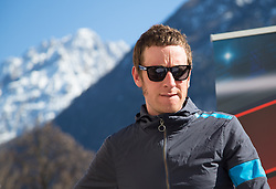 15.04.2013, Lieburg, Lienz, AUT, Giro del Trentino, Pressekonferenz, im Bild Bradley Wiggins // duringa press conference of the Giro del Trentino at the Lieburg, Lienz, Austria on 2013/04/15. EXPA Pictures © 2013, PhotoCredit: EXPA/ Johann Groder