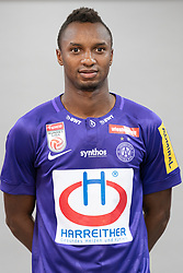 16.07.2019, Generali Arena, Wien, AUT, 1. FBL, FK Austria Wien, Fototermin, im Bild Sterling Siloe Yateke // Sterling Siloe Yateke during the official team and portrait photoshooting of tipico Bundesliga Club FK Austria Wien for the upcoming Season at the Generali Arena in Vienna, Austria on 2019/07/16. EXPA Pictures © 2019, PhotoCredit: EXPA/ Florian Schroetter