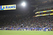 Los Angeles Memorial Coliseum during an NFL football game between the Rams and Seattle Seahawks, Sunday, Dec. 8, 2019, in Los Angeles, Calif. The Rams defeated the Seahawks 28-12. (Peter Klein/Image of Sport)