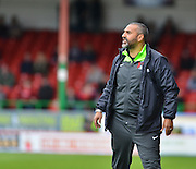 Leyton Orient's manager Fabio Liverani  during the Sky Bet League 1 match between Swindon Town and Leyton Orient at the County Ground, Swindon, England on 3 May 2015. Photo by Mark Davies.
