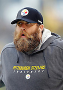 Pittsburgh Steelers defensive end Brett Keisel (99) looks on during the NFL week 16 football game against the St. Louis Rams on Saturday, December 24, 2011 in Pittsburgh, Pennsylvania. The Steelers won the game in a 27-0 shutout. ©Paul Anthony Spinelli